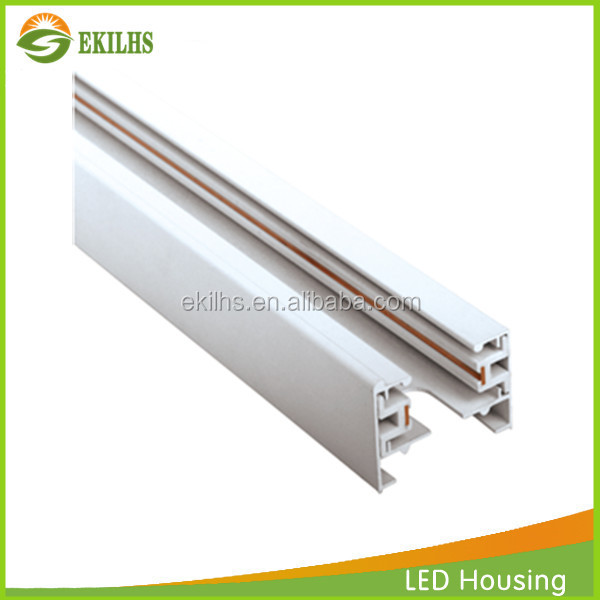 Original Facotry led track light ACCESSORIES led track light rail 2 wire straight connector use for led track light