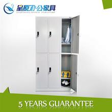 6tier metal storage locker microbiology laboratory equipment with cyber lock