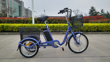 Hot sale made in China factory 36v 350w electric tricycle for adults