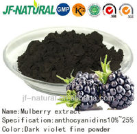 100% natural Mulberry fruit extract 25% anthocyanidins