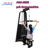 Body building gym machine lat pulldown with 200LBS weight stack