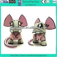 custom movie mouse action figure toys, cartoon plastic action figure, 3d plastic vinyl action figure