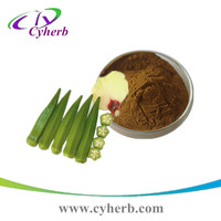 Natural health supplements wholesale dried okra powder/okra extract 4:1 10:1 20:1