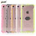 Magnet car holder case for iphone7 clear shockproof armor case for iphone7 cell phone accessories