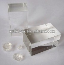 high quality blank k9 crystal glass block