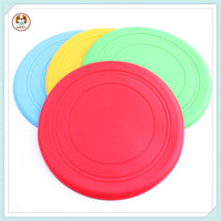 Frisbee Silicone Rubber Dog Toys Drill Silicone Rubber Dog Toys