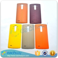 Original New Leather Battery Cover For LG G4 Back Cover Battery Door Housing Case Replacement