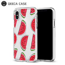 New products ultra slim transparent tpu cell phone case custom printing design phone case for iPhone X