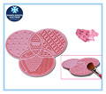 New design hot selling silicone make up brush cleaner mat/cleaning mat