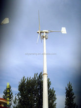 300w -60kw off grid dc motor wind turbine generator free energy with speed limited controller , tilt tower