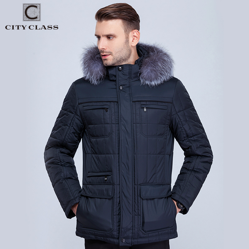 14342 Hot Sale Fashion Men's Hood Winter Jacket Overcoat New Style Windproof Warm Cotton-Padded Down Coat For Men