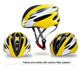 2016 new hot selling bicycle PC + EPS safety helmet