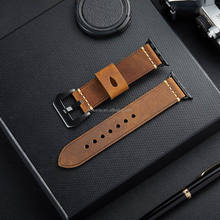 Economic factory price for iphone watch bands for apple iwatch band 38mm 42mm leather watch strap