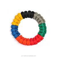 100pcs/lot price for 1lot 10colors RJ45 Network Cable Plug Boots Cap Cat5 Cat6
