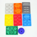 8 pcs/set mold silicone ice tray ice maker popsicle mold party cubitera de silicona gelo