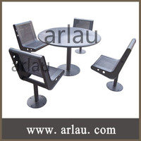 (TB-009) Outdoor Metal Table and Chairs