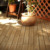 Eco-friendly solid wooden floor chinese fir wood interlocking deck tile for outdoor