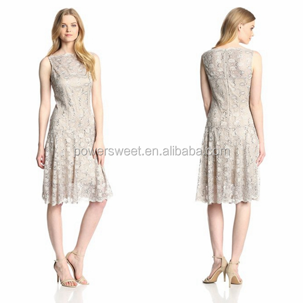 2014 Vintage European Chiffon Embroider Lace Dress For Summer