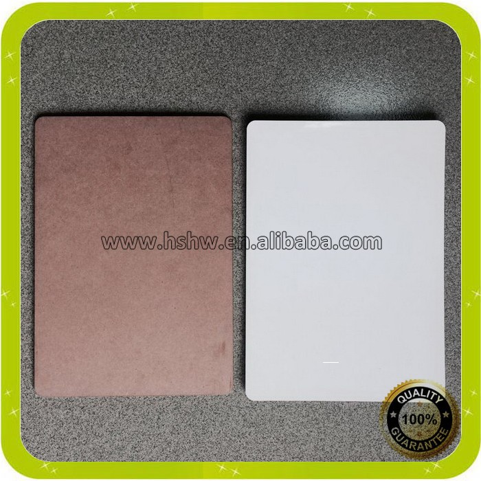 sublimation blank wood mdf sheet 3mm thickness