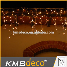 connectable led icicle garland light for holiday ourdoor decoration