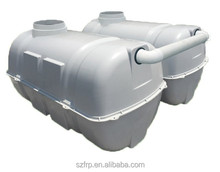 Large integrated FRP purification tank\Domestic sewage water treatment plant/sewer septic tank 1CBM