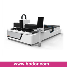 full cover fiber laser cutting machine bodor1530 with auto feeding tables