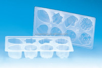 Custom PP Plastic Silicone 8 Cups Crystal Jelly Mould