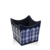Hot sale household pu leather storage basket for gift flower
