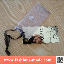 Cheap Plastic PVC Hang Tags Printing Customize