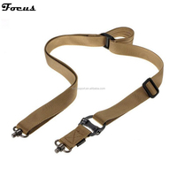 Foucs Sport Military Tactical Leather Gun Sling