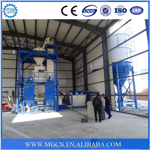 Mixer,dry mortar plants cement tile adhesive making machine shipping from china