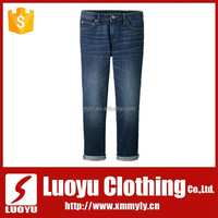 2017 fashion girls' denim jeans