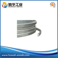 Extruded magnesium ribbon sacrificial anode cathodic protection