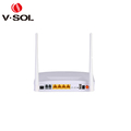 FTTH EPON ONU device 4LAN 2POTS WIFI ONU VoIP ONU for optical equipment