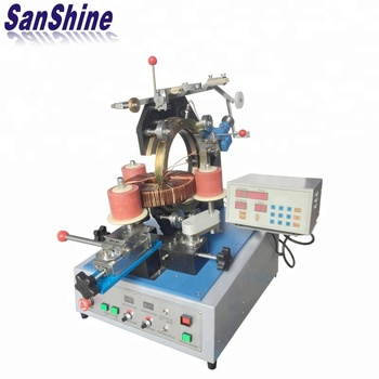 Gear type automatic big toroid coil winding machine(SS300-01)
