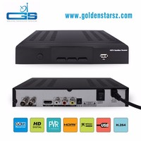 Hot selling satellite tv receiver set-top box can Watch YouTube by USB wifi