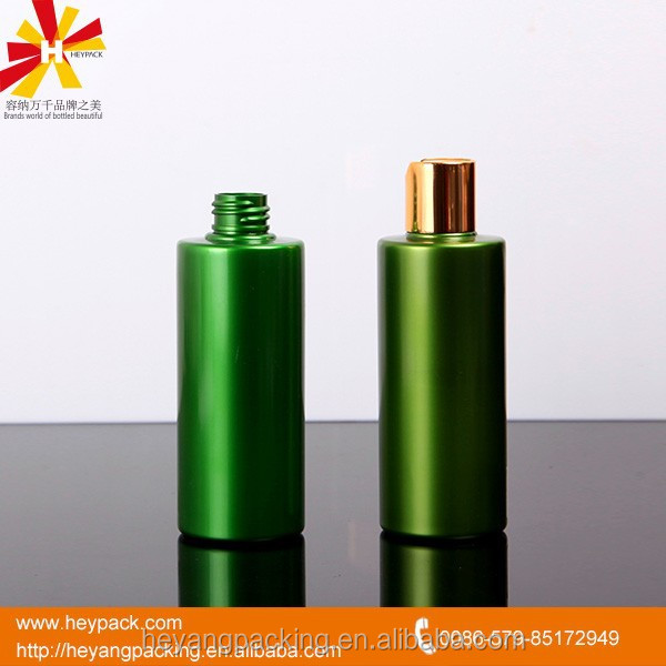 cosmetic usage pet material custom made 100ml bottles