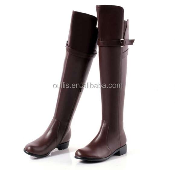 long boots PU shoes high quality shoes 2017 N-HP814