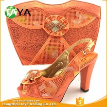 Charming Italian Matching Shoes And Bag Set for Women