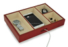 Wooden Jewelry Display Tray for Mobile Phone and Trinkets Storage