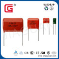1.0uF polyester film capacitor