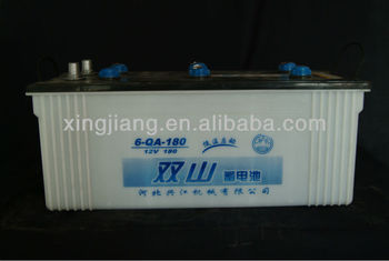 12v 180ah Dry charged battery