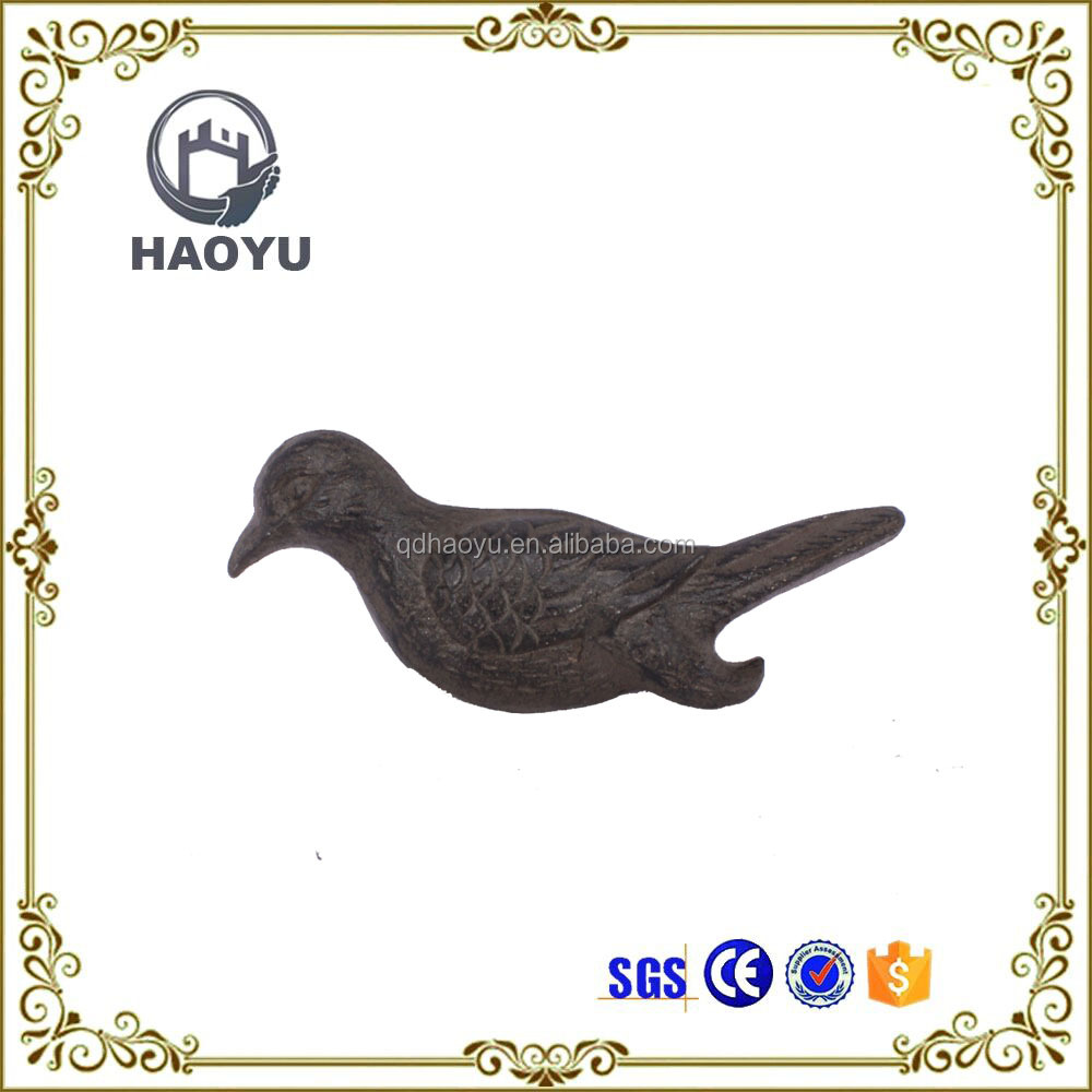Antique metal art and crafts baby bird decoration for home