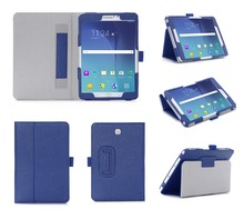 Wholesale Custom Leather Shockproof Cover Fancy Back-fold Tablet Case For Samsung Tab S2 SM-T710
