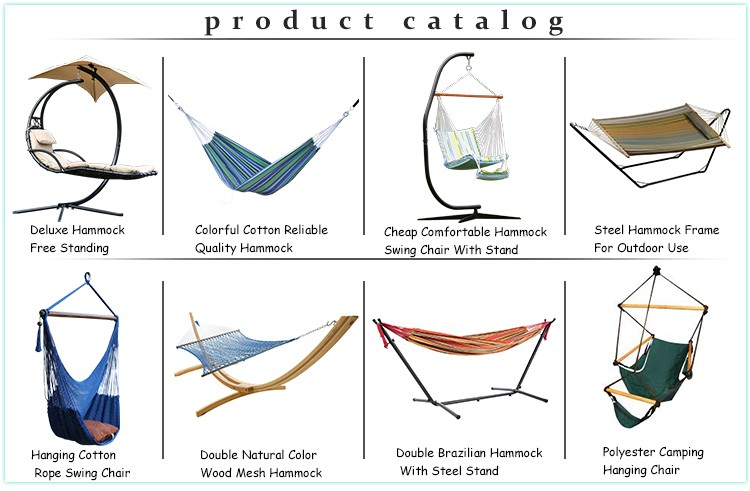 portable single size nylon taffeta nylon hammock camping, Amazon supplier hammocks wholesale