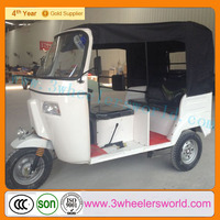 Alibaba Website 2014 China New Design Gas Scooters Rickshaw with Roof For Sale