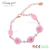 L1445 Candygirl brand custom pure handmade women fashion pearl jewelry beads chain pearl bracelet