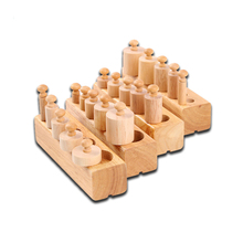 Drop shipping basswood montessori manufacturer classroom educational games children montessori products