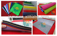 High properties of felt fabric, polyester needle felt fabric for hot sale