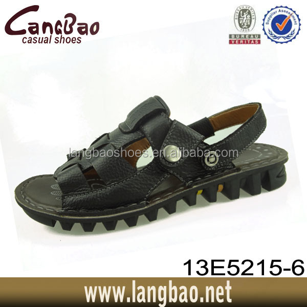 2016 new style wholesale breathable men sandal design